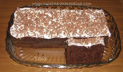 Cake Yaourt Chocola